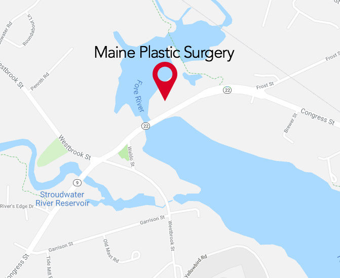 Our Location, Plastic Surgery Center & Spa in Maine